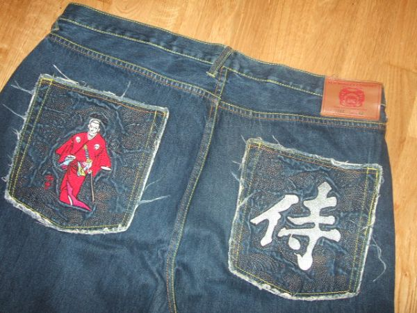 Red Monkey RMC Martin Ksohoh Red Samurai 42 35 Mens Jeans 42